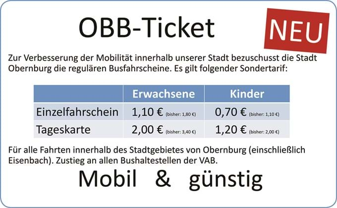 OBB-Ticket